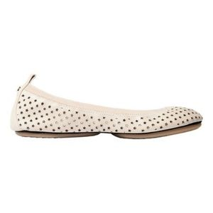 Yosi Samra Leather Ballet Flat
